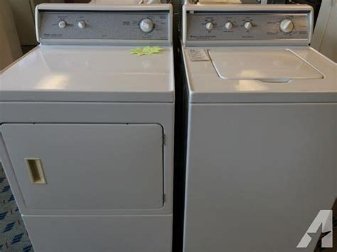 amana washer and dryer amana designer series washer dryer set pair used for sale in tacoma washington classified