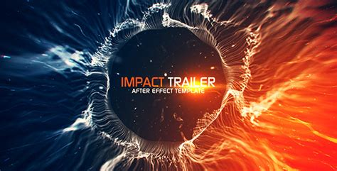 Impact Trailer Titles After Effects Template Videohive 12165625 After Effects Project Files Trailer Template After Effects Project