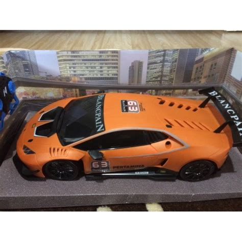 Orange Lamborghini Remote Car Lamborghini Huracan Orange 1 10 Scale Radio Remote