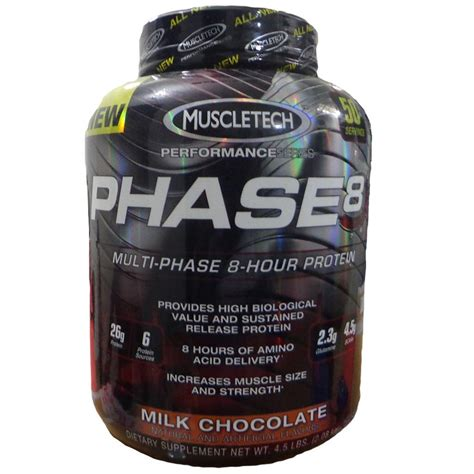 Whey Phase 8 muscletech phase 8 whey protein milk chocolate 4 5 lbs 2 kg buy muscletech phase 8 whey