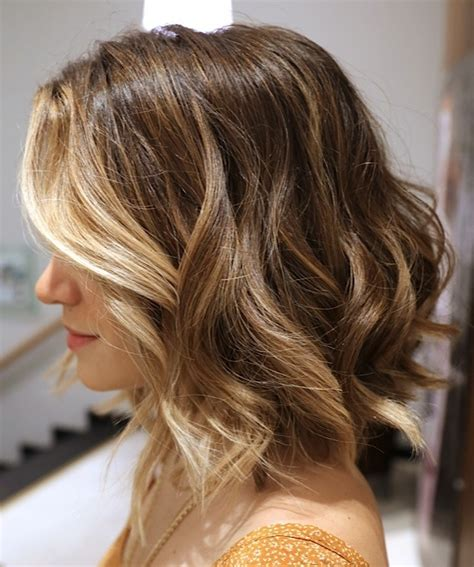 Lightened Front Hair | how to wear the bronde hair color on your bob hair world