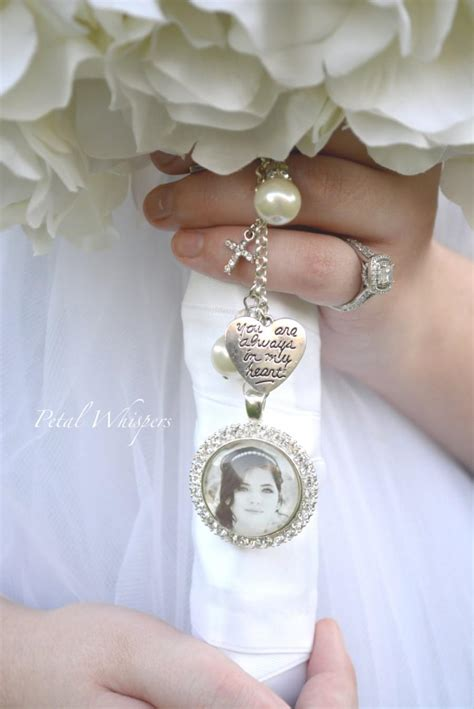 Wedding Bouquet Charms by Bridal Bouquet Charm Bouquet Charm Wedding Memorial
