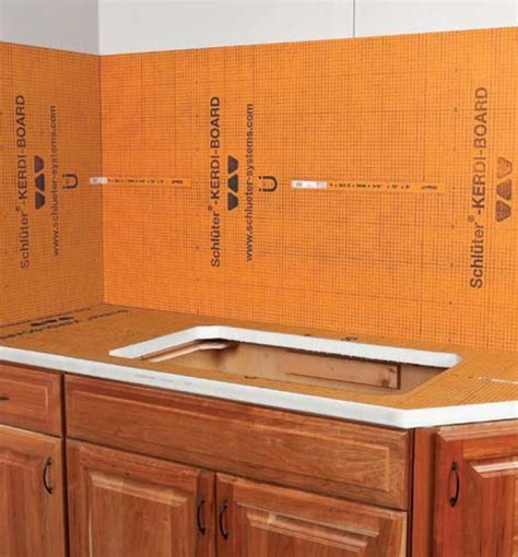 Schluter Kerdi Board   Westside Tile and Stone