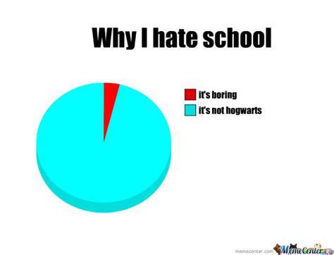 I Hate School Meme - why i hate school by trolgirl1 meme center