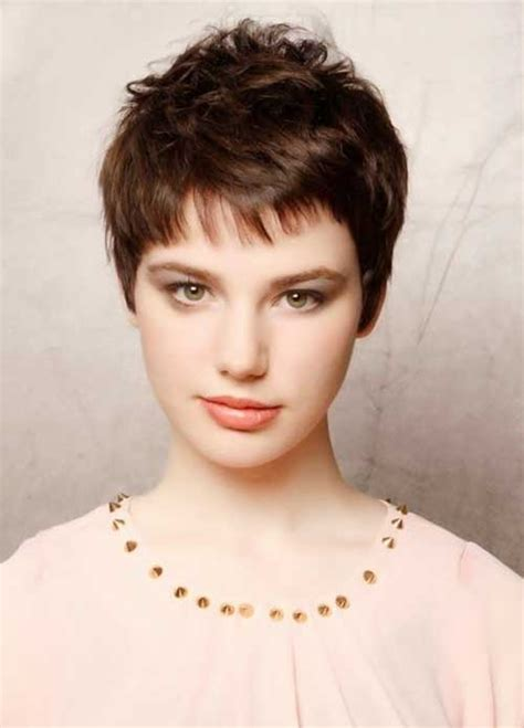pixie cut curly hair round face short pixie cuts the best short hairstyles for women 2016