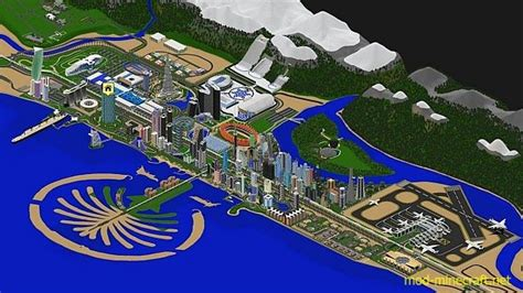 1 8 alleron city map minecraft forum