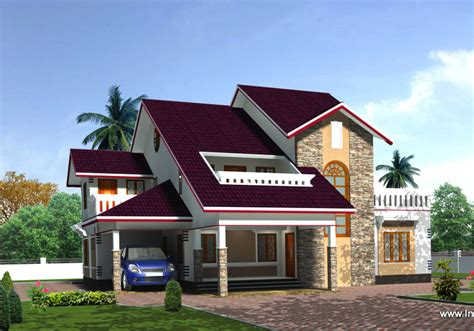 new house plans kerala model