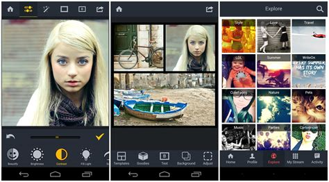 15 sweet photo collage apps for android ios and windows phone - Photo Editor Android
