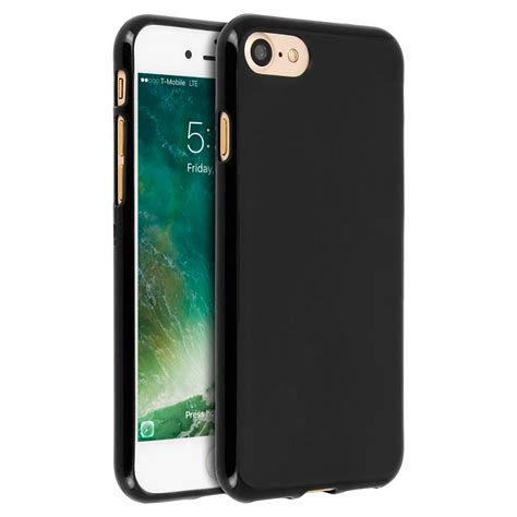 p iphone 7 coque silicone gel noir mat mati 232 re incassable p apple iphone 7 et iphone 8 coques tpu fr
