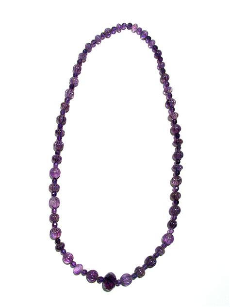 beaded jewelry for sale amethyst beaded necklace fj 2513 for sale antiques