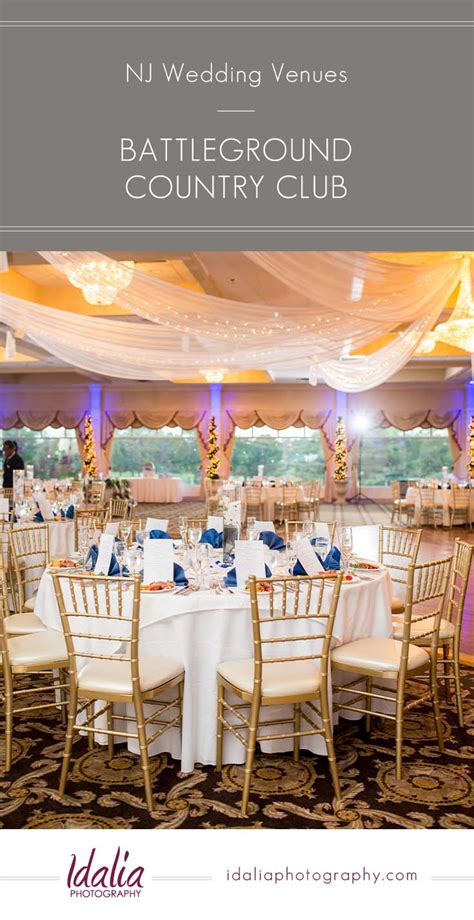 intimate wedding venues in central nj battleground country club manalapan nj