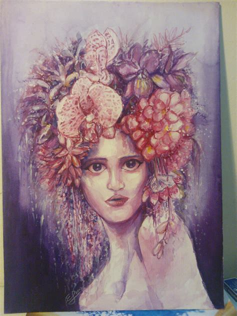 Floral Series 3 floral afro series 1 3 by ezza jalani on deviantart