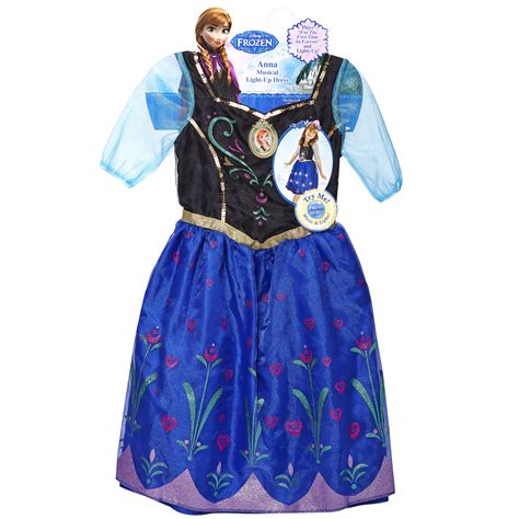 frozen light up dress disney frozen anna musical light up dress