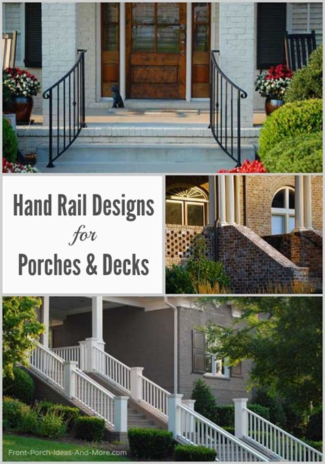 How To Build A Handrail For Outdoor Steps Stair Hand Rails Porch Hand Rails Deck Hand Rails