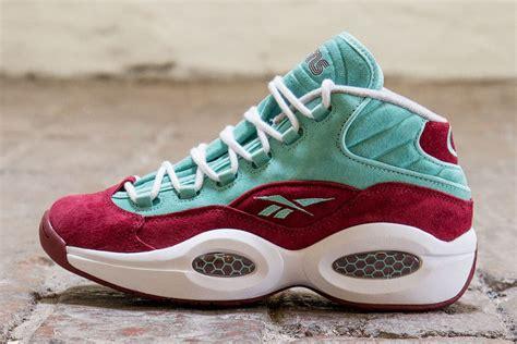 question sneakers sneakersnstuff x reebok question aqua