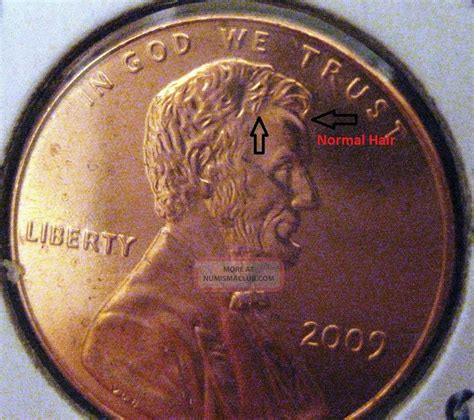 lincoln years 2009 lincoln cent lp1 childhood years toupee abe