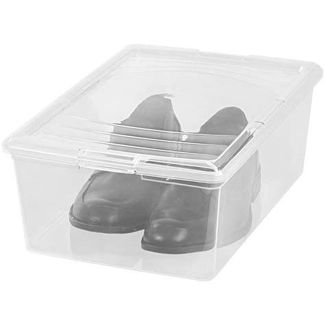 clear plastic shoe storage boxes clear plastic box large shoe in plastic storage boxes