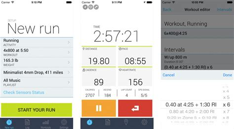 Best To 5k Iphone App by Best Run Tracking Apps For Iphone Runkeeper Map Run Ismoothrun And More Imore