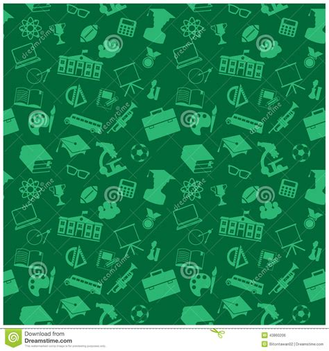 background wallpaper education icon education icons background stock vector image 43860206