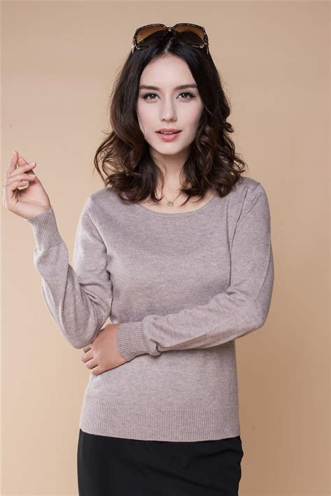 Sweater Rajutan 2017 2015 sweaters s sweaters and pullovers o neck fashion solid color