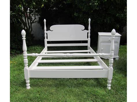 restoration hardware bed frame antique full size bed frame with bedside table aka