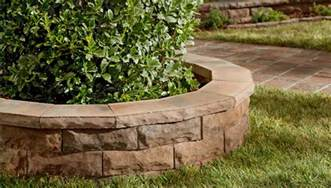 lowes landscape blocks planning for a block retaining wall
