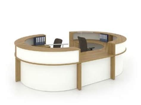 Reception Desks And Furniture From Groupe Lacasse Oval Reception Desk