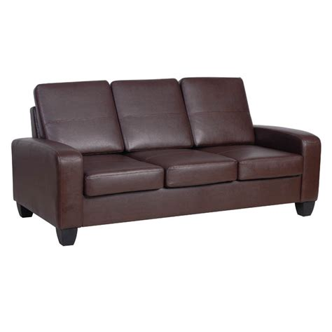 Faux Leather Sofa Smileydot Us