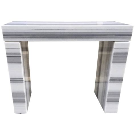 carrara marble console carrara marble console fireplace mantel for sale at 1stdibs