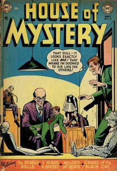 house of mystery house of mystery 14 the case of the deadly dolls issue