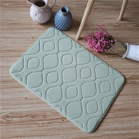 rubber backed bathroom rugs rubber backed antiskid washable bathroom rug buy
