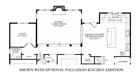 pics for gt country kitchen floor plans