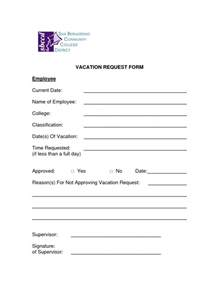 free vacation request forms with calendar free calendar