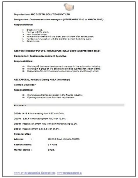 10000 cv resume sles with free do
