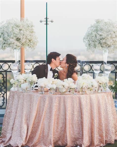 wedding sweetheart table ideas weddings romantique
