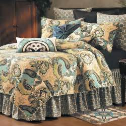 bed quilts kasbah paisley quilt bedding