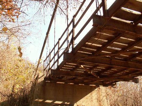swinging bridge osage beach mo swinging bridge picture of swinging bridge osage beach