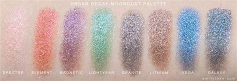 Decay Moondust review decay moondust palette emilyloke