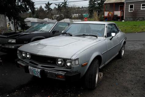 1976 toyota celica st old parked cars 1976 toyota celica st hardtop