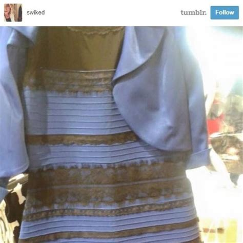 the dress is blue and black says the girl who saw it in yougov it s official the dress is blue and black