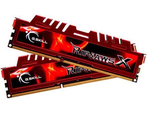 Ram G Skill 4gb Ddr3 g skill ripjawsx 8gb 2x 4gb ddr3 1600mhz memory f3