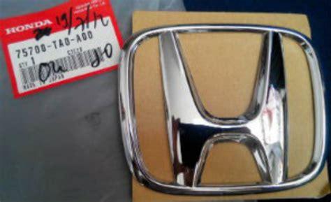 Emblem Logo Honda Brio emblem logo depan h honda brio ukuran 12x10cm