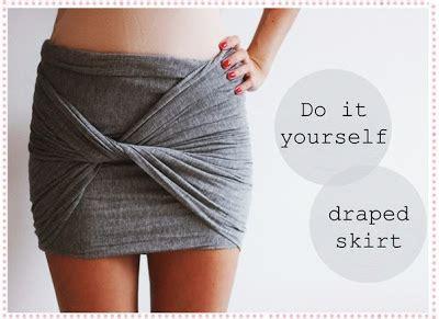 draped skirt diy handmadera draped skirt diy