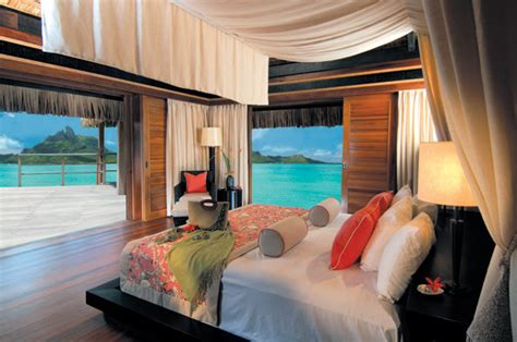 bora bora four seasons rooms honeymoons bridalguide