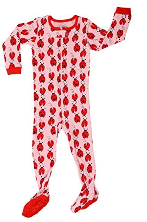 18 Month Sleepers by Elowel Baby Footed Quot Ladybug Quot Pajama Sleeper 100