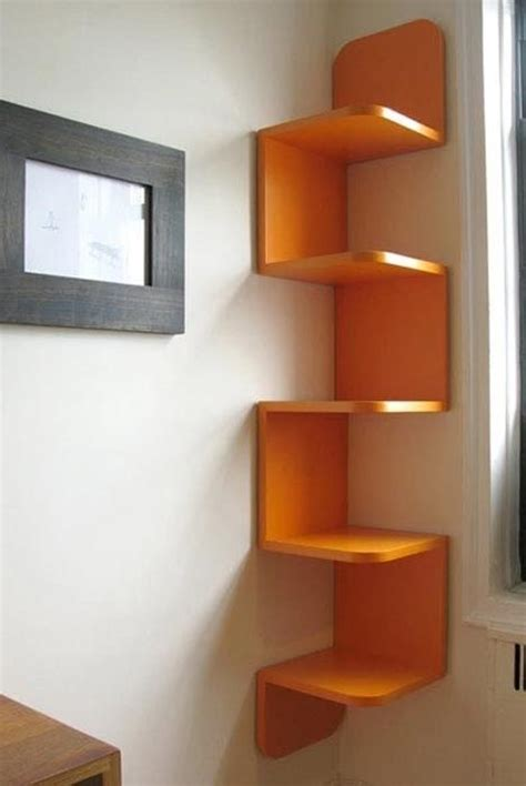 awesome corner bookcase more amazing bookshelf
