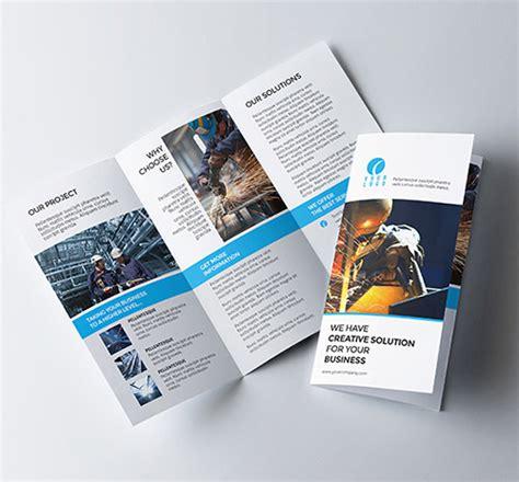 layout for tri fold brochure 30 creative exles of tri fold brochure designs naldz