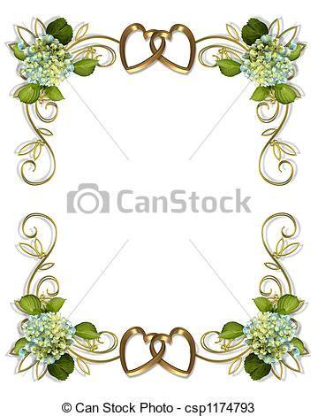 cornici virtuali per foto disegni di ortensia floreale bordo ortensia fiori