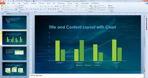 powerpoint template for scientific presentations and