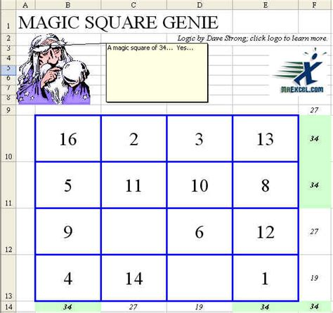 Magic Square Worksheet by Magic Square Worksheet Deployday